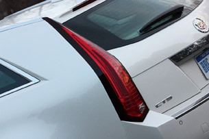 2011 Cadillac CTS-V Sport Wagon taillight