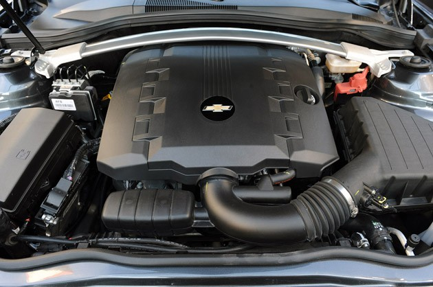 2011 Chevrolet Camaro Convertible engine