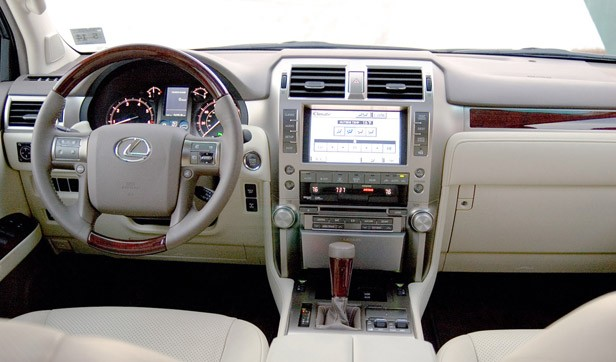 2011 Lexus GX 460 interior