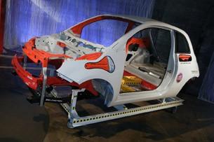 2012 Fiat 500 structural demo