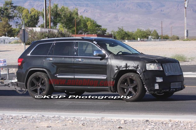 spy shots jeep grand cherokee srt8