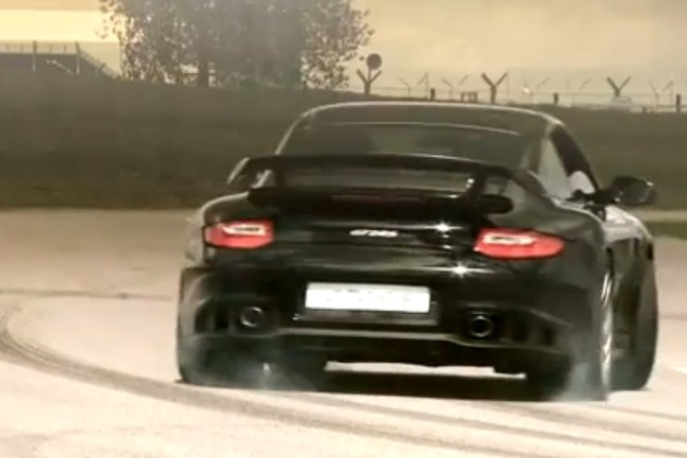 Mark Webber and the Porsche 911 GT2 RS