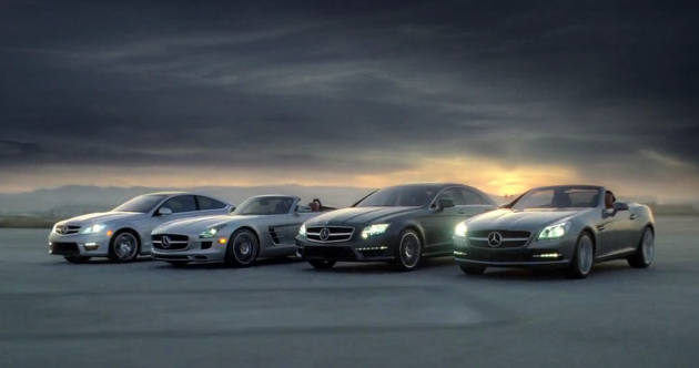 Mercedes-Benz C-Class Coupe, Mercedes-Benz SLS AMG Roadster
