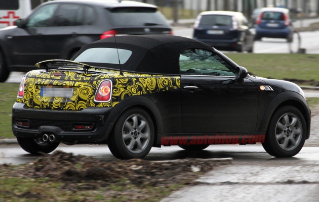 Mini Speedster spy shot