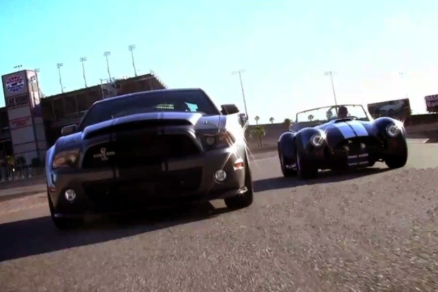 Shelby Cobra and Super Snake