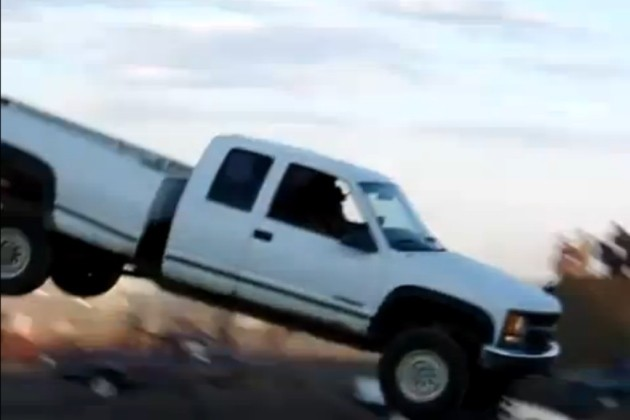 Chevy Silverado jump fail