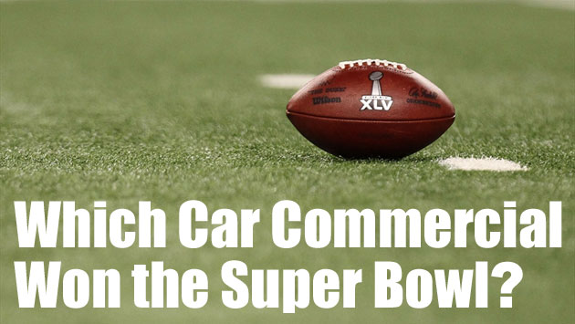 Super Bowl car commercials