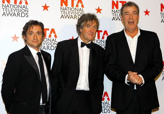 top gear james may richard hammond jeremy clarkson