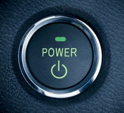 Toyota Camry Hybrid pushbutton start