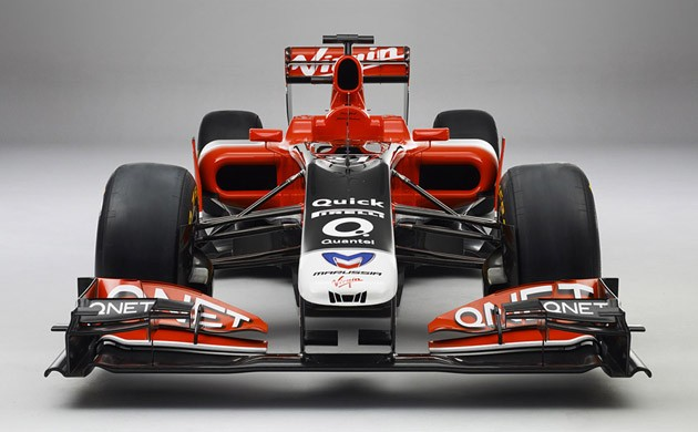 2011 Marussia Virgin Racing MVR-02