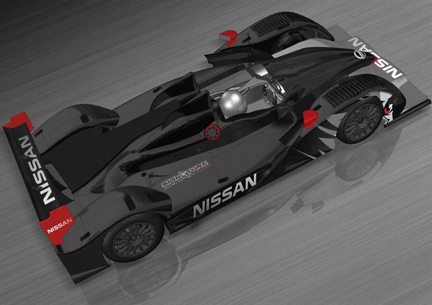 Signature Nissan LMP2