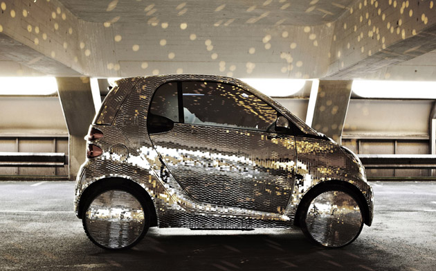 disco-ball smart fortwo electric drive