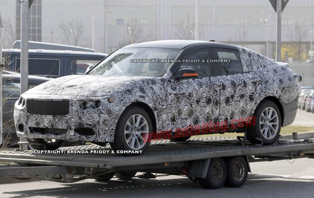 spy shots bmw 3 series gt