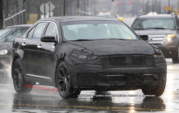 2012 Ford Taurus SHO Spy Shots