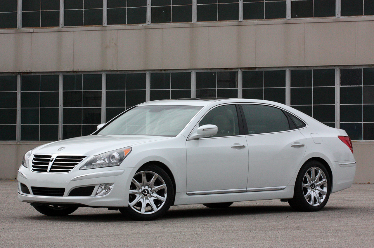 2011 Hyundai Equus Ultimate May 2011 W Video Autoblog