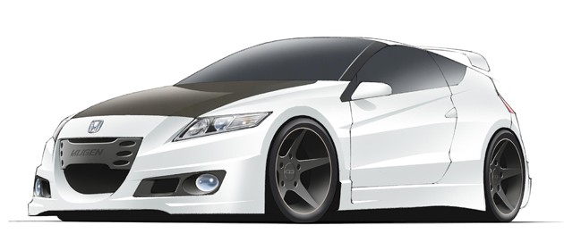 Mugen Honda CR-Z sketch