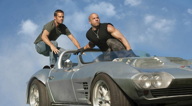 fast five paul walker and vin diesel