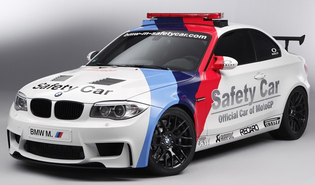 bmw 1 m motogp safety car