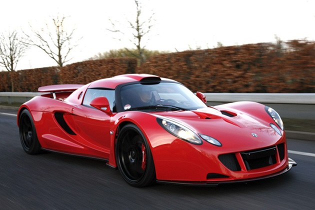 Hennessey Venom GT Chassis #3 in Red