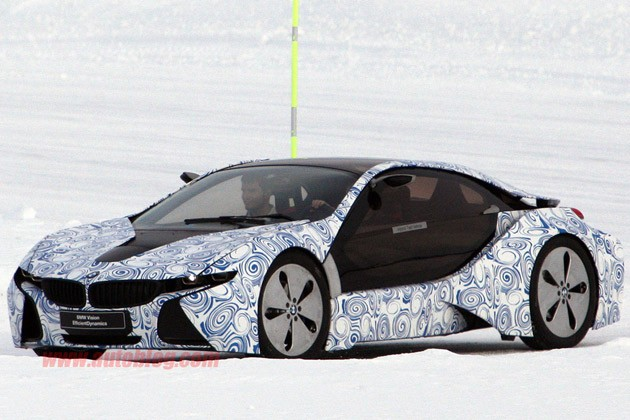 BMW i8 Spy Shots