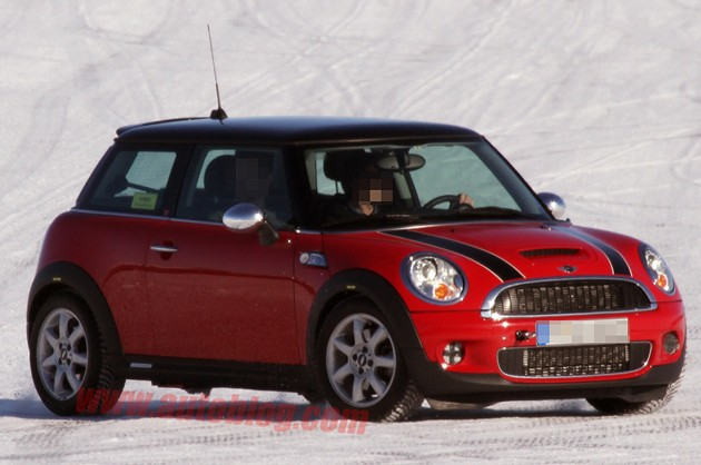 hybrid mini cooper spy shot