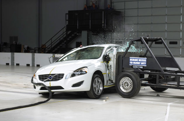 2012 Volvo S60 IIHS Crash Tests