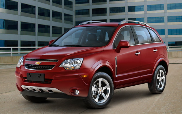 2012 Chevrolet Captiva Sport Reviews
