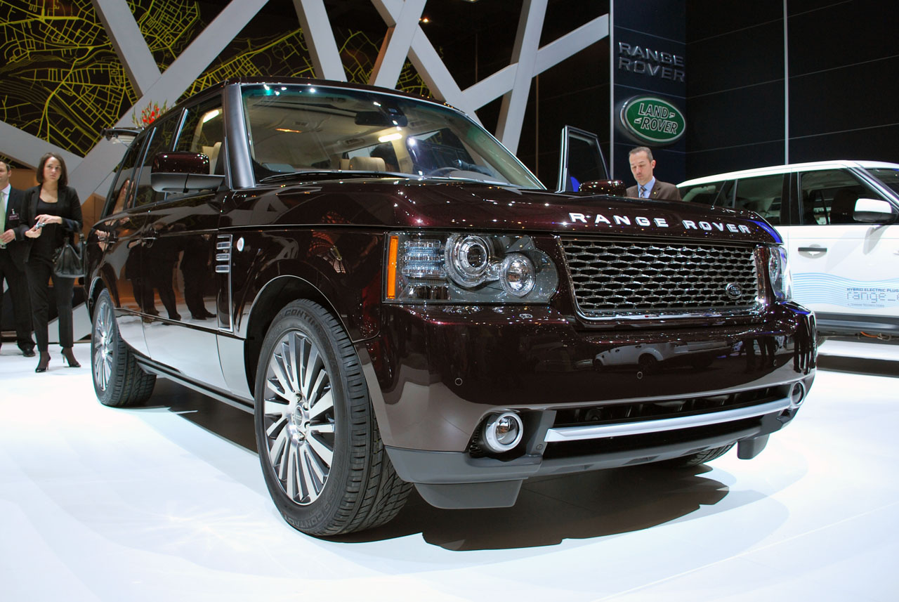 land rover range rover autobiography ultimate edition geneva  photo gallery autoblog