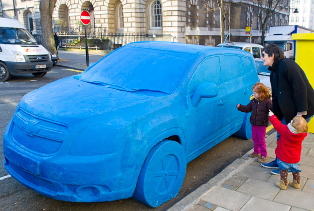 Chevrolet Orlando Play-Doh Sculpture
