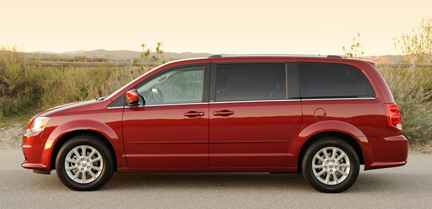 2011 Dodge Grand Caravan side view