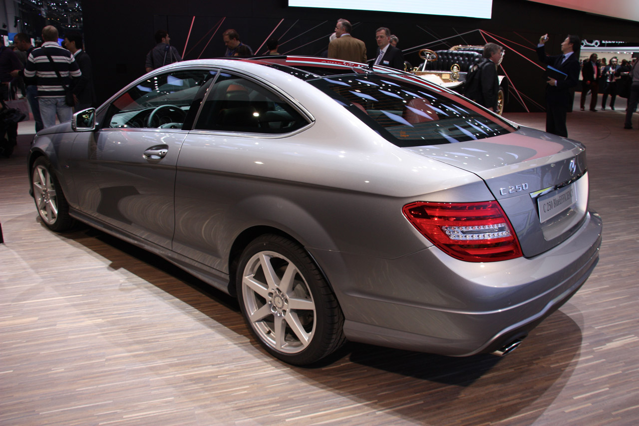 2012 mercedes benz c class coupe geneva 2011 photo gallery autoblog. Black Bedroom Furniture Sets. Home Design Ideas