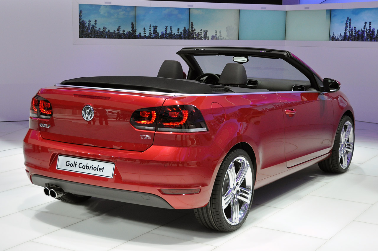 2012 volkswagen golf cabriolet geneva 2011 photo gallery autoblog. Black Bedroom Furniture Sets. Home Design Ideas