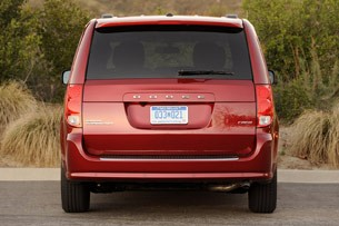 2011 Dodge Grand Caravan rear view