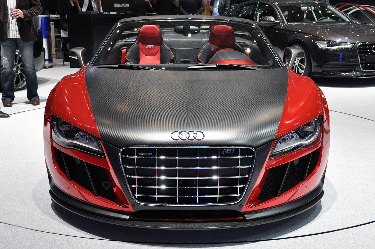 2011 abt audi r8 spyder gts dark cars wallpapers. Black Bedroom Furniture Sets. Home Design Ideas