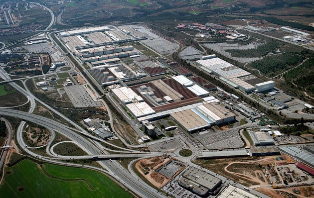 Martorell Spain  city photo : Seat plant in Martorell, Spain