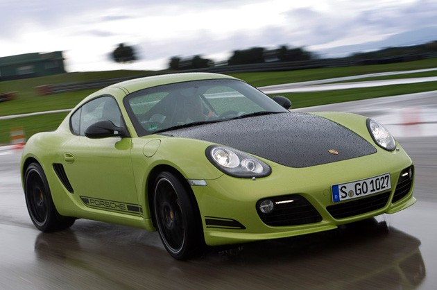 Porsche Cayman R 2011. Nearly every Porsche has a Sport button, and the 2011 Cayman R is no different. It quickens the PDK gearbox#39;s shifts,