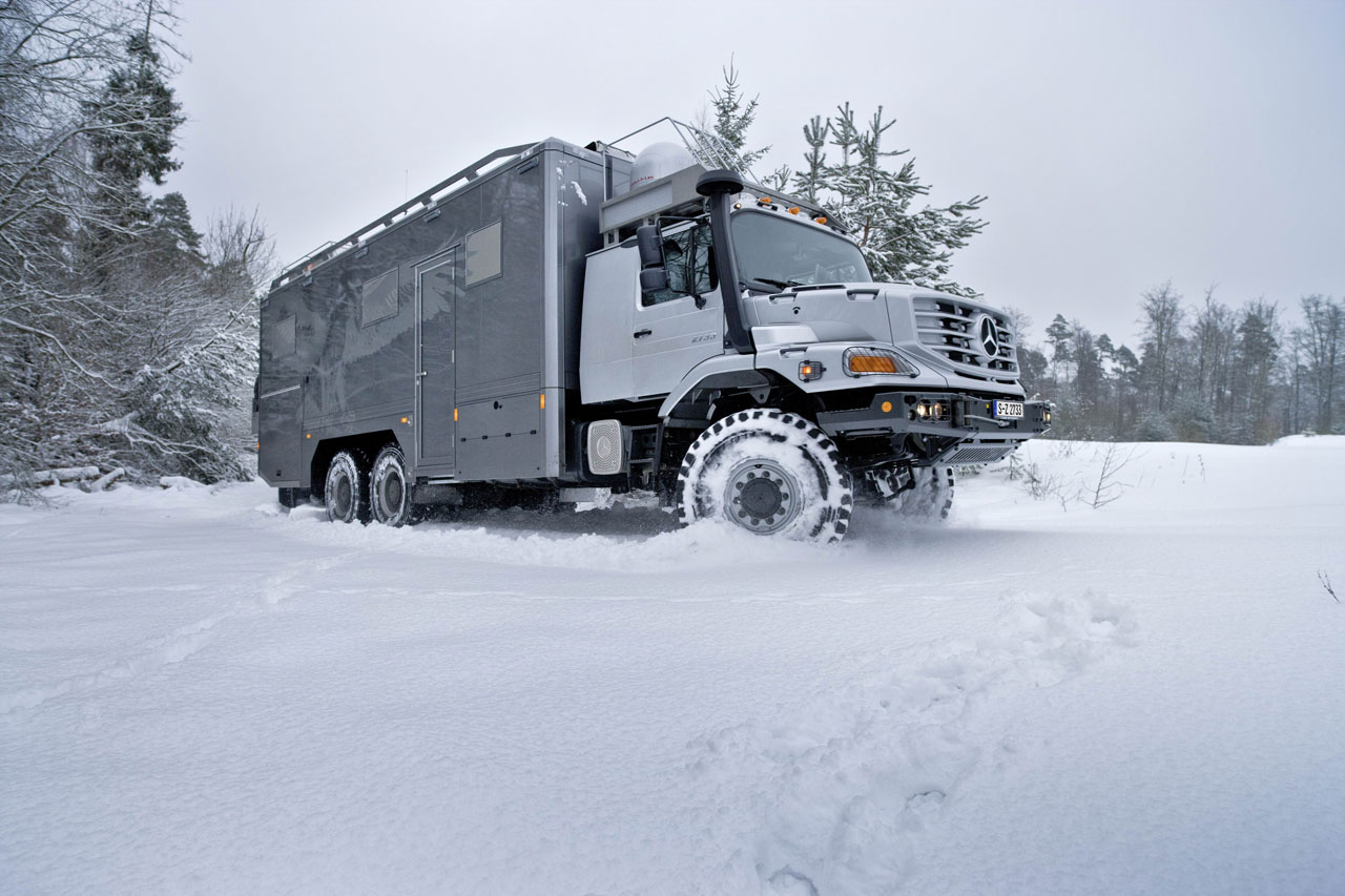 Acura Certified Pre-Owned >> Mercedes-Benz Zetros 6x6 Mongolian Expedition Vehicle Photo Gallery - Autoblog