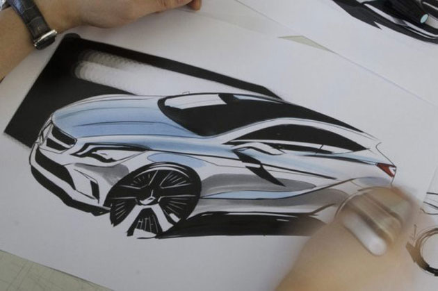 Mercedes-Benz A-Class Sketch