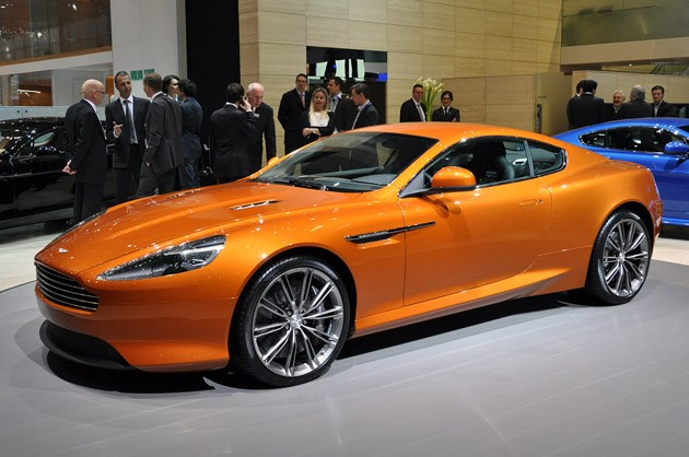 Aston Martin Virage debut in Geneva