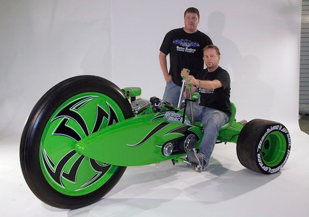 Parker Brothers Choppers builds world's biggest bigwheel