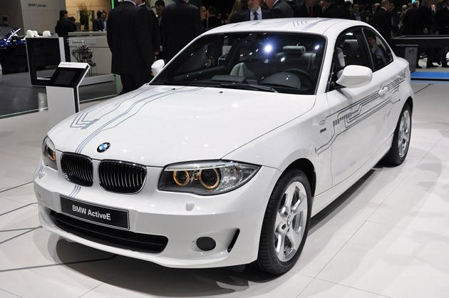 BMW ActiveE at 2011 Geneva Motor Show