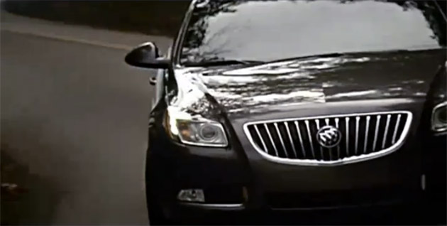 Buick Regal CXL Turbo commercial