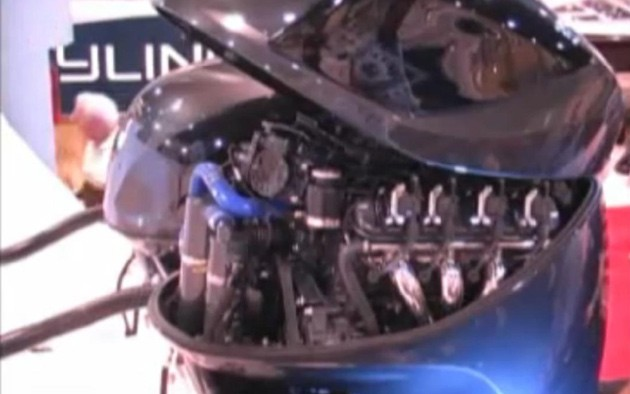 Video: Seven Marine uses Cadillac CTS V engines in outboard motors