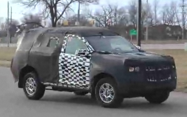 Mystery Chevrolet SUV spy shot