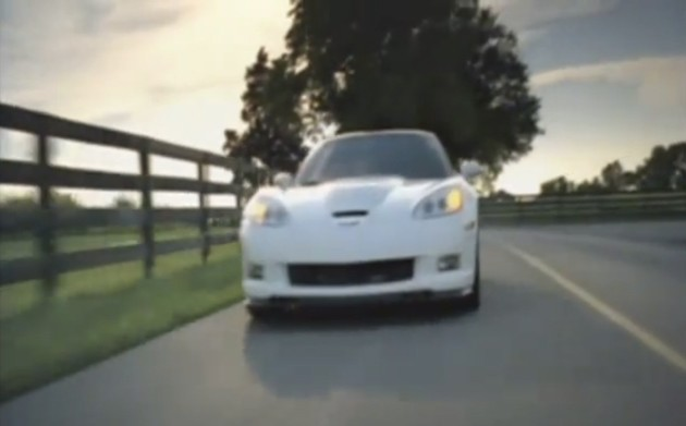 Corvette ZR1 video
