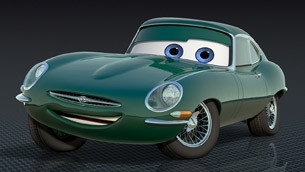 David Hobbscap from Pixar's CARS 2
