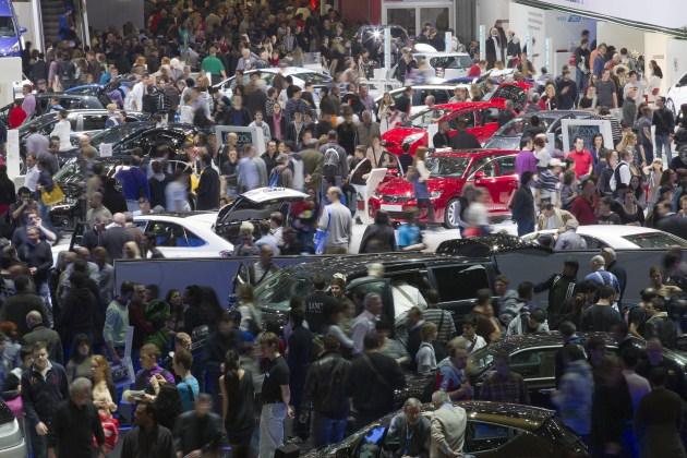 Inside the 2011 Geneva Motor Show