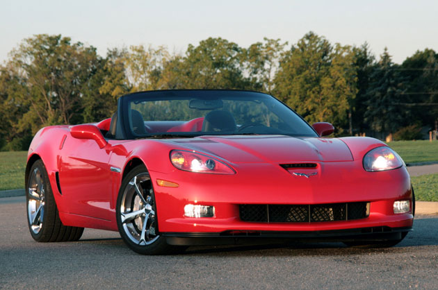2010 Chevrolet Corvette Convertible Grand Sport