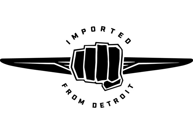 imported from detroit logo