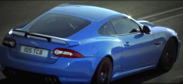 2011 Jaguar XKR-S promo video